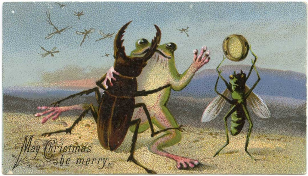Merry Christmas Cards 12 Times A Day The Victorian Way